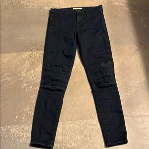 Gap True Skinny Navy Pants size 27